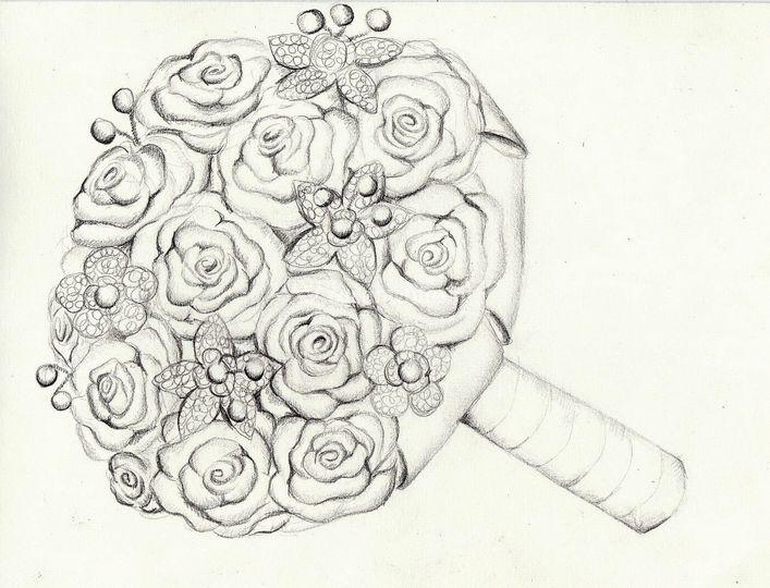 Croqui Bouquet