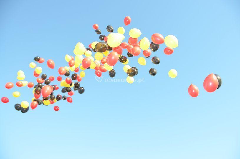 Lançamento Balões 2012