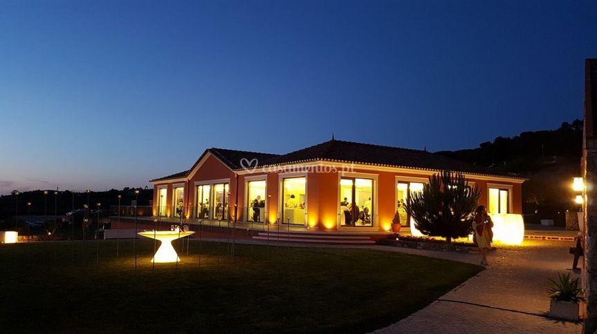 Salão principal noite