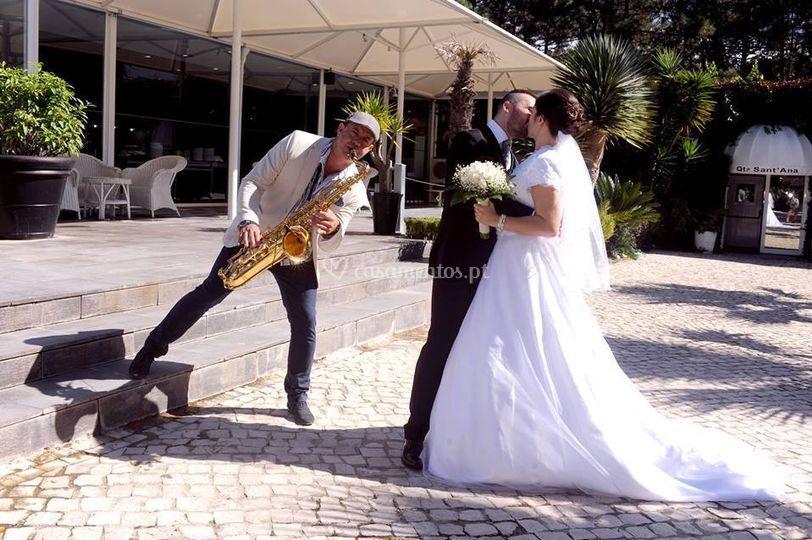 Saxofone no espaço