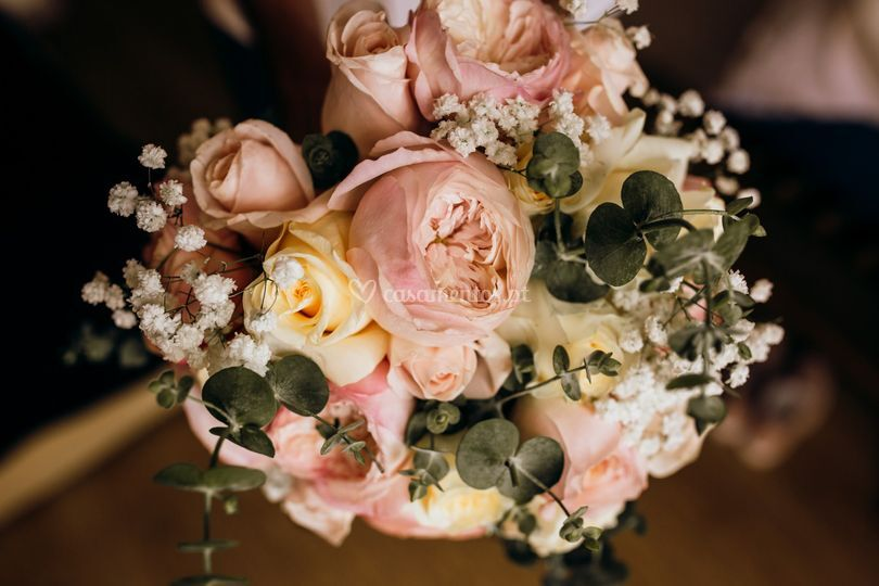 Bouquet rosa inglesa...