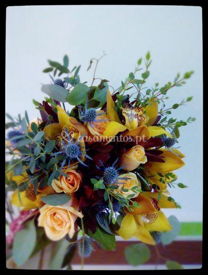 Bouquet boémio chic
