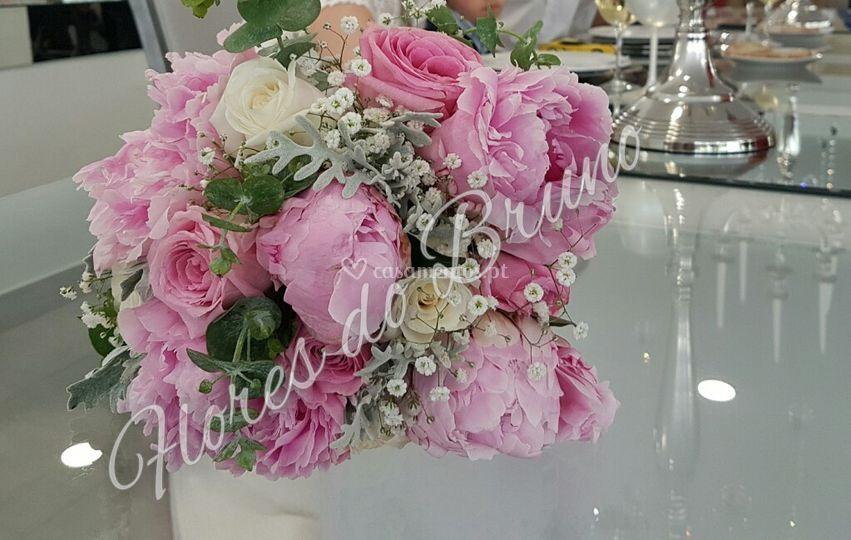 Bouquet com Peonias