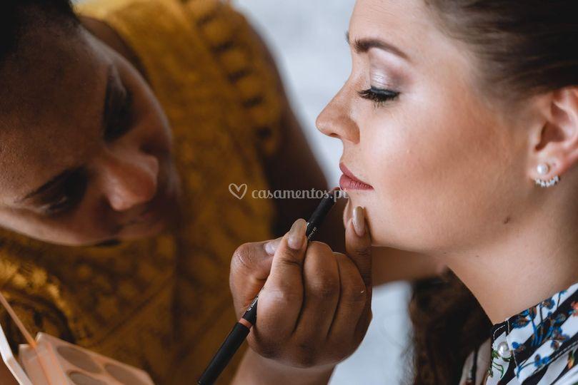 Catila Gaspar Makeup