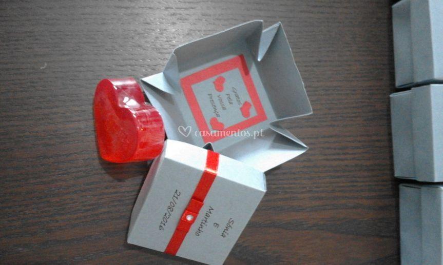 Exemplos de caixas personaliza