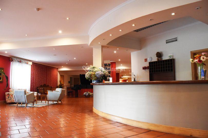 Receçao hotel