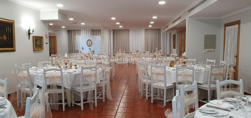 Sala festa branco