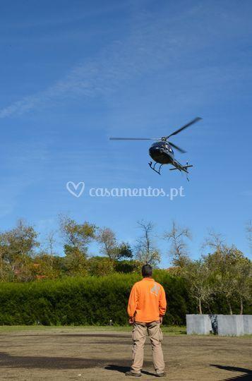 Helicóptero Estufa de Colares