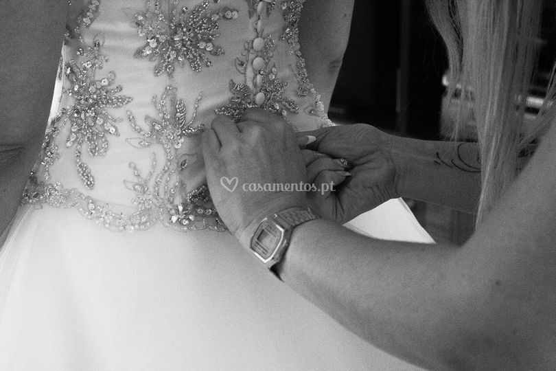A mão que veste
