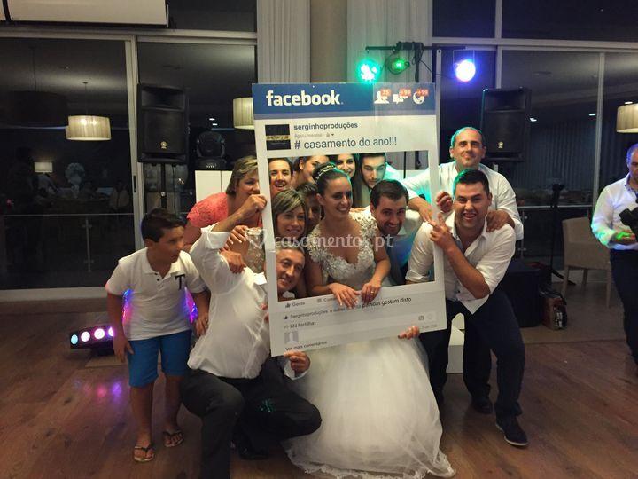 Janela facebook