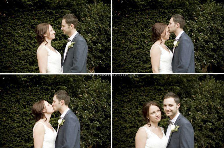 Ensaios externos de casamento