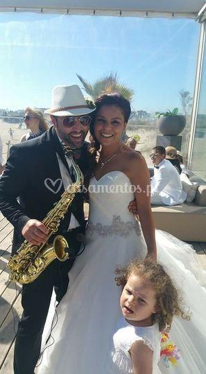 Bruno soares com noiva
