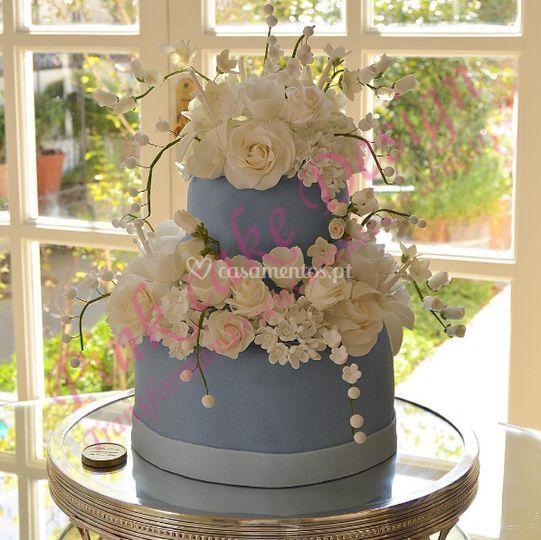 Pink Cake Design