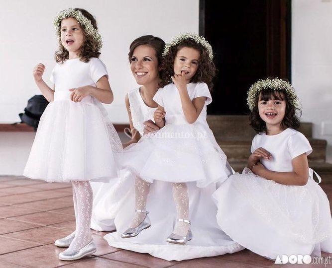 Meninas das flores