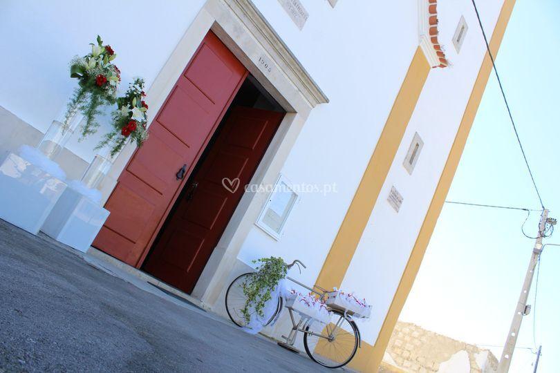 Decoração Igreja - Exterior