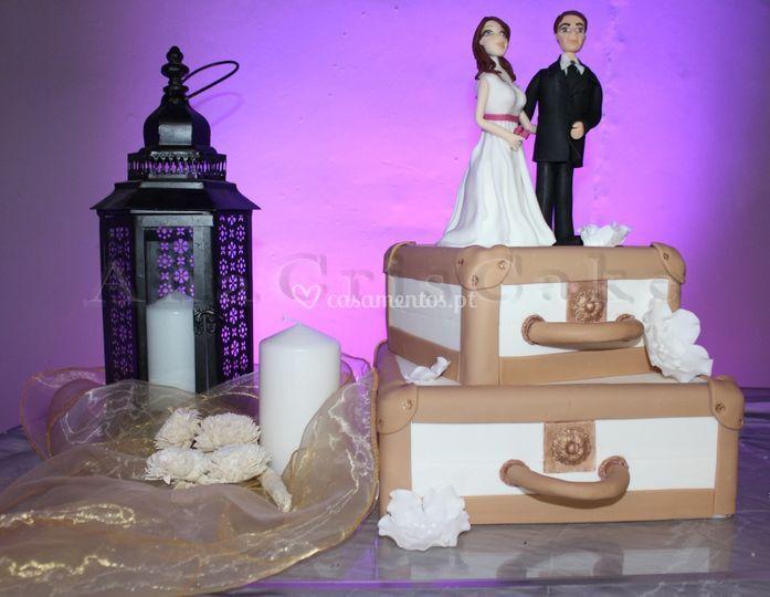 Bolo de Casamento tematico