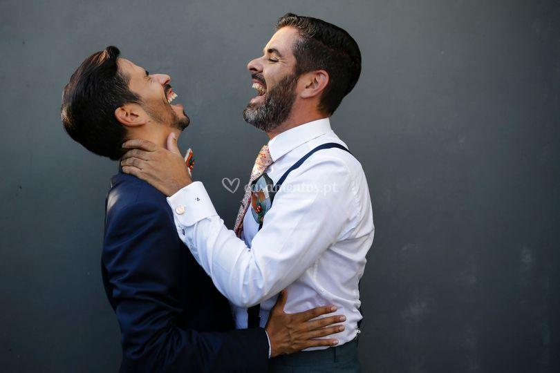 Josefino Alfaiate abraço