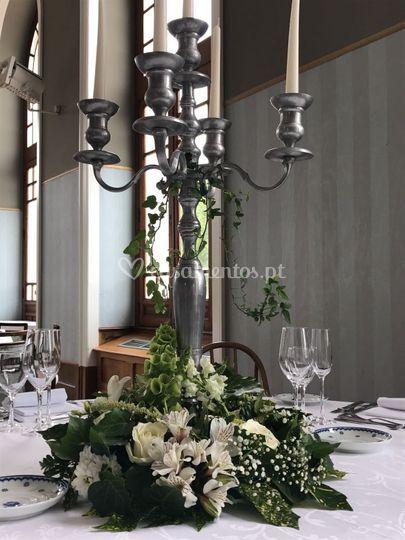 Mesa convidados detalhe