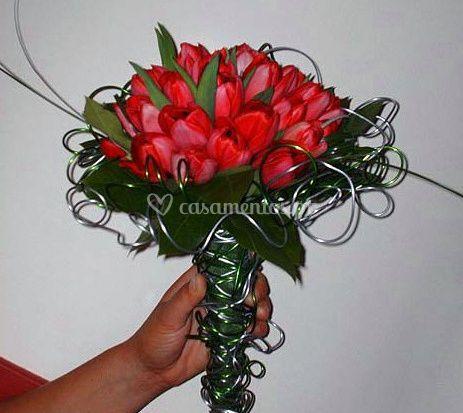 Bouquet com armação