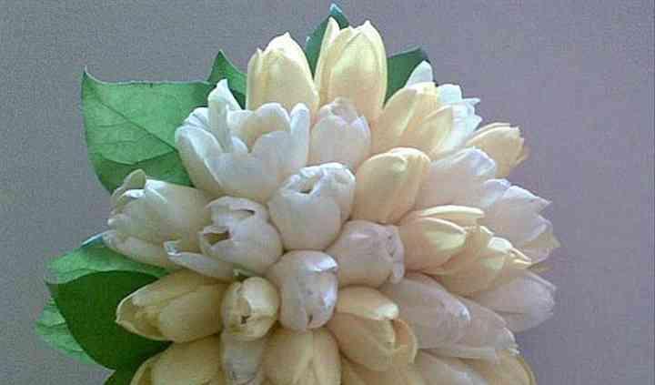 Com tulipas