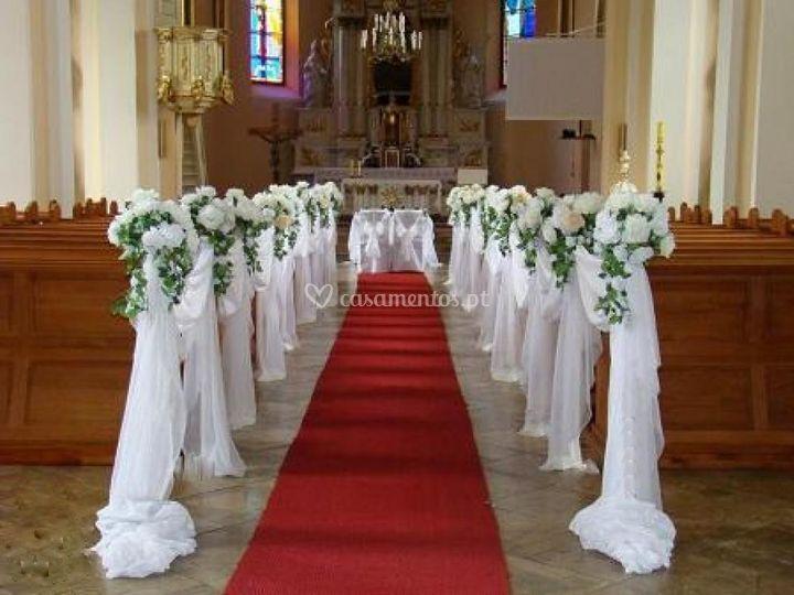 Decoração da igreja, ...