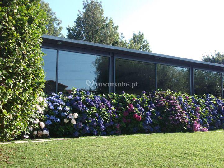 Sala do jardim