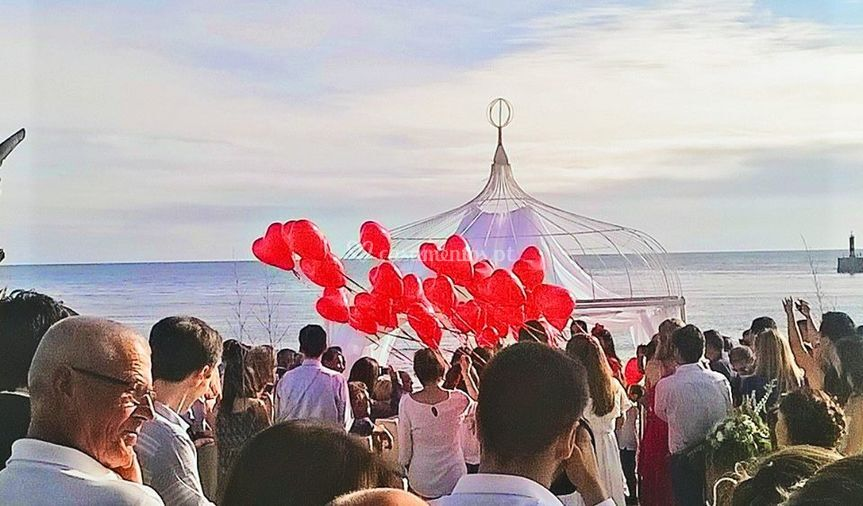 Largada balões do Amor