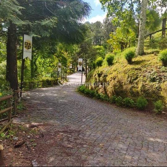 Caminho da entrada