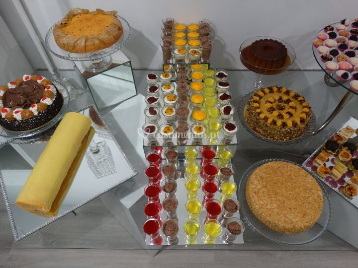 Buffet sobremesas