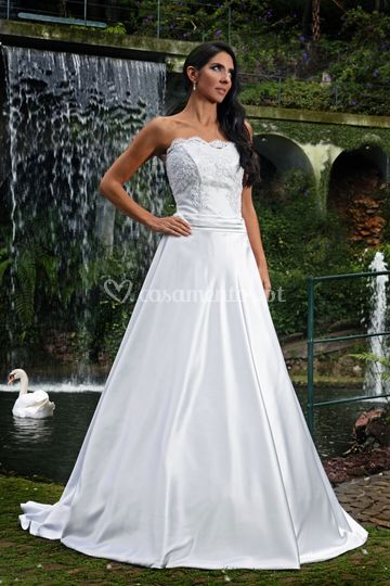 Wedding dress linea