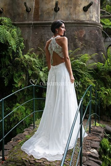 Wedding dress laize