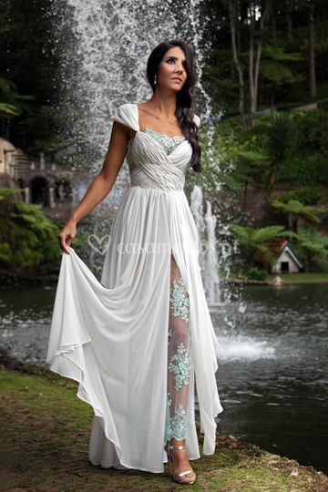 Wedding dress greek style