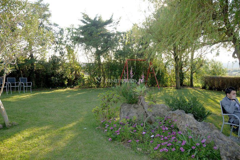 Jardins acolhedores