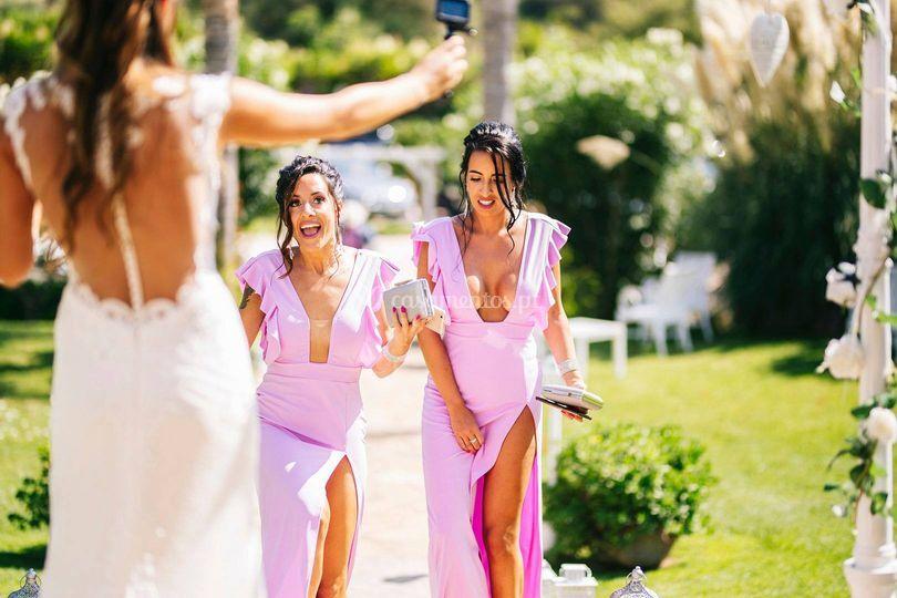 Bridemaids makeup