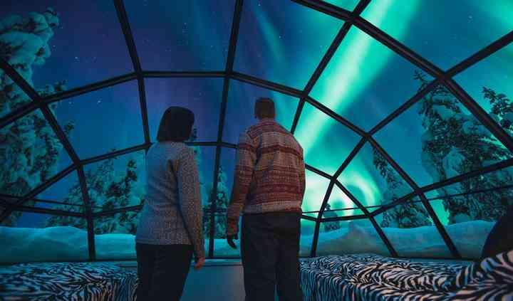 Hotel Iglo - Aurora Boreal