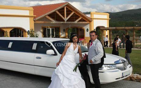 Limousine para os noivos