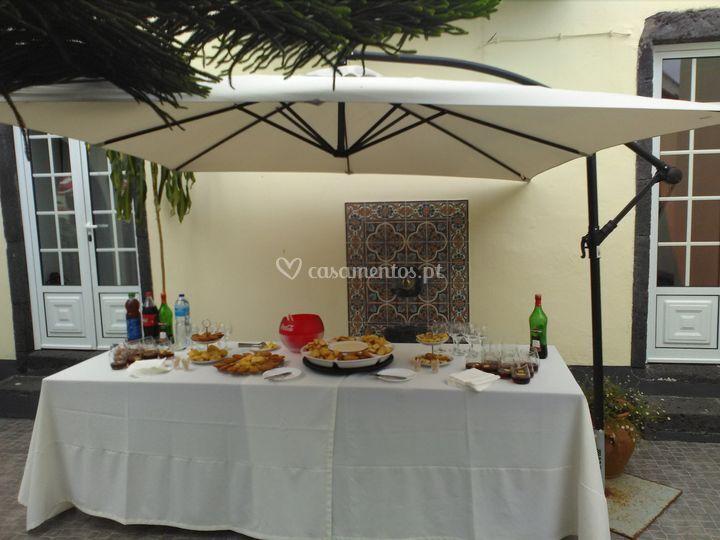 Mesa aperitivos