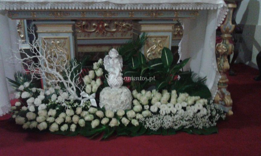 Decoração de altar casamento