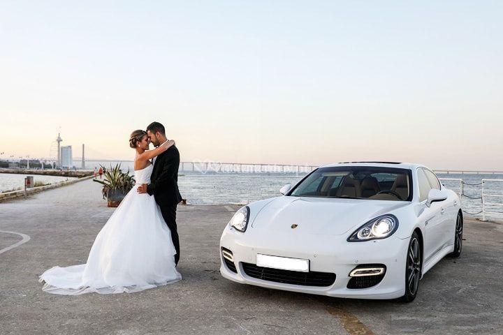 Porsche Panamera branco