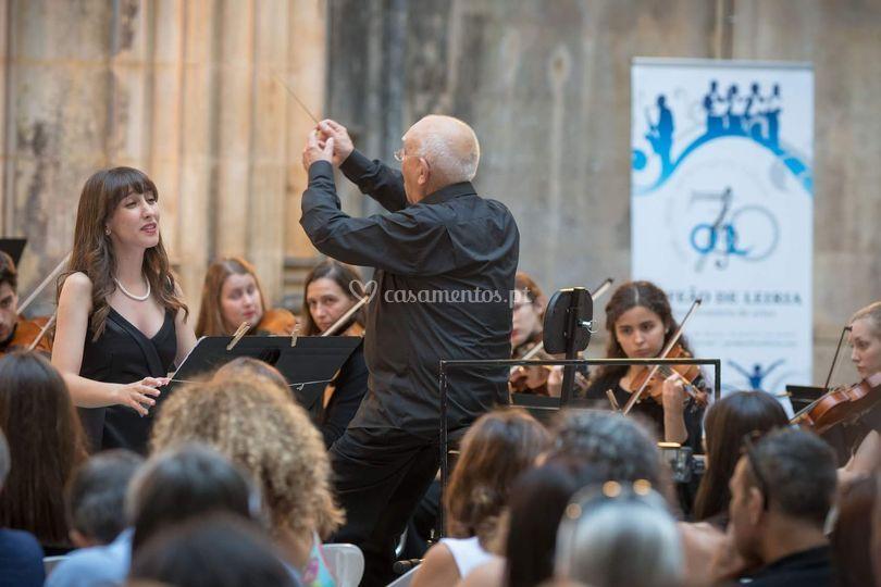 Concerto com orquestra
