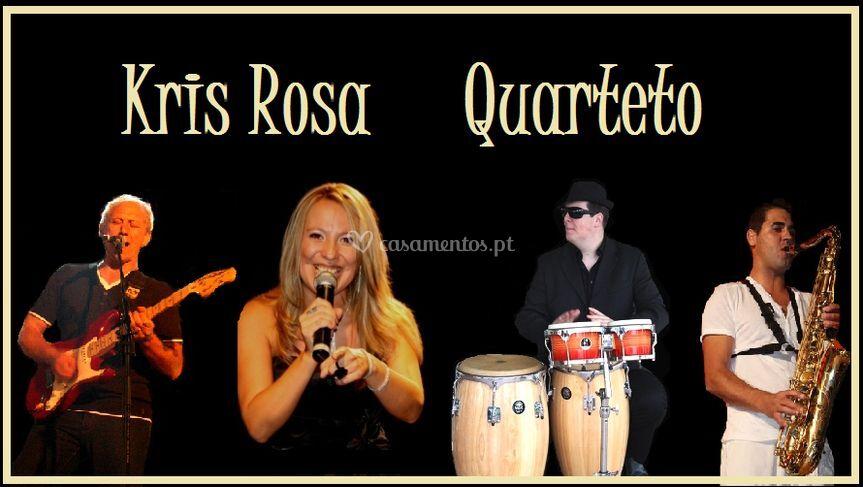 Kris rosa quarteto