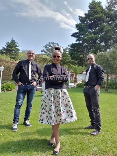 Kris rosa trio acústico