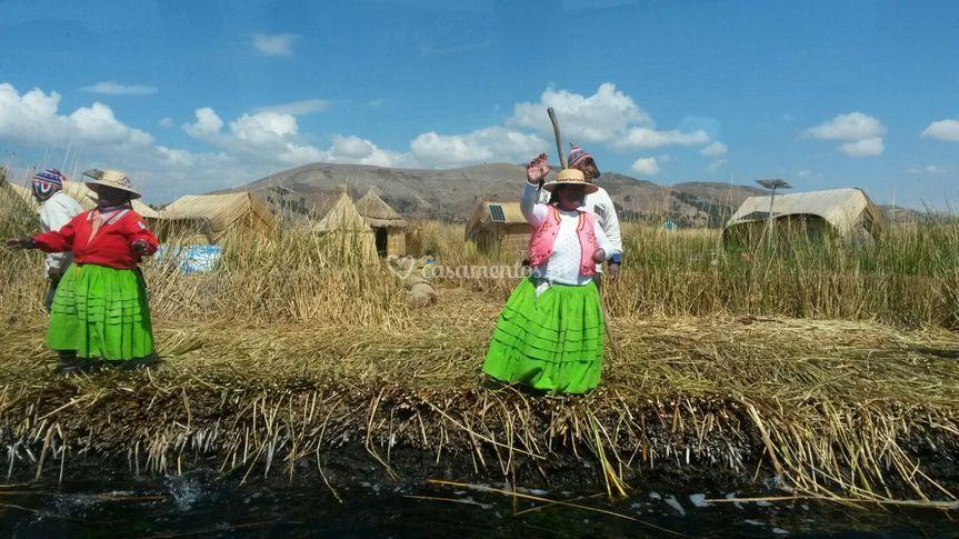 Lago titicaca- perú