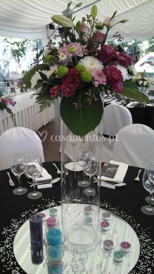 Decoração mesas
