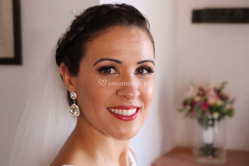 Maquilhagem e Penteado Noiva
