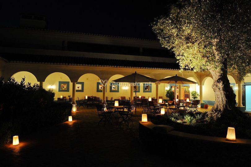 Restaurante á noite