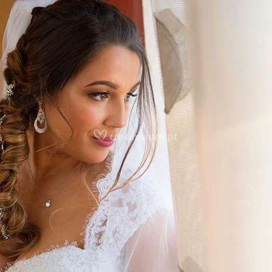 Maquilhagem da noiva Jenifer