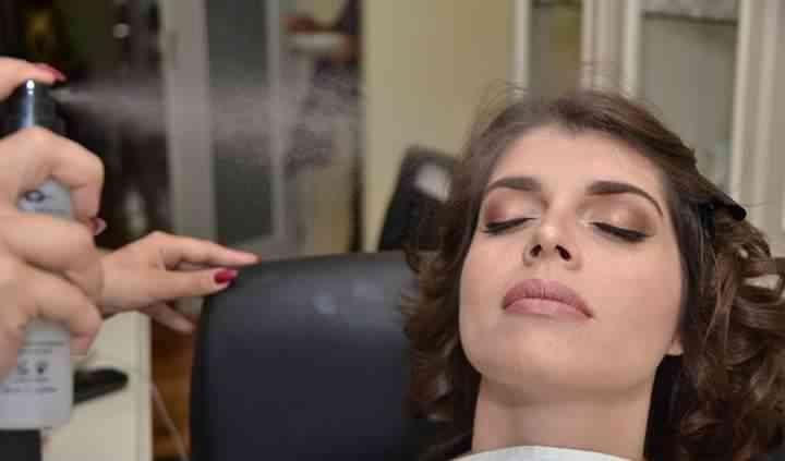 Maquilhagem da noiva Andreia