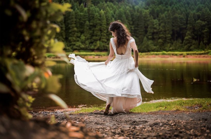 Trash of the dress