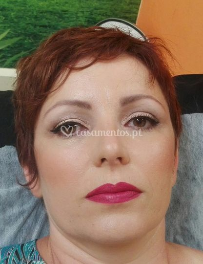 Make up batizado